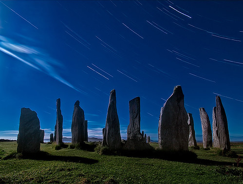 Callanish Startrails by The Flying Monk