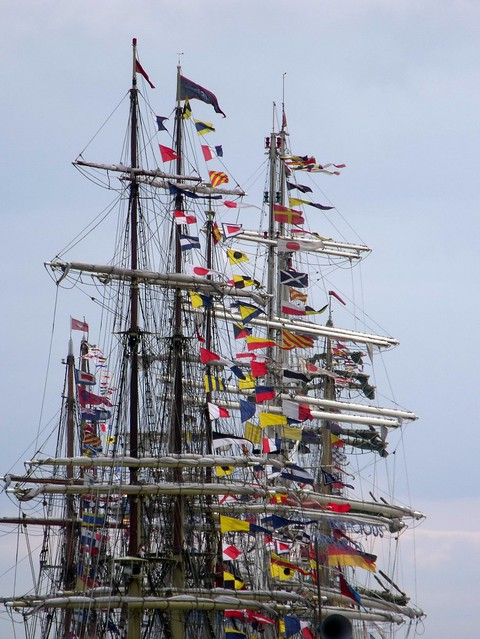 Masts and Flags