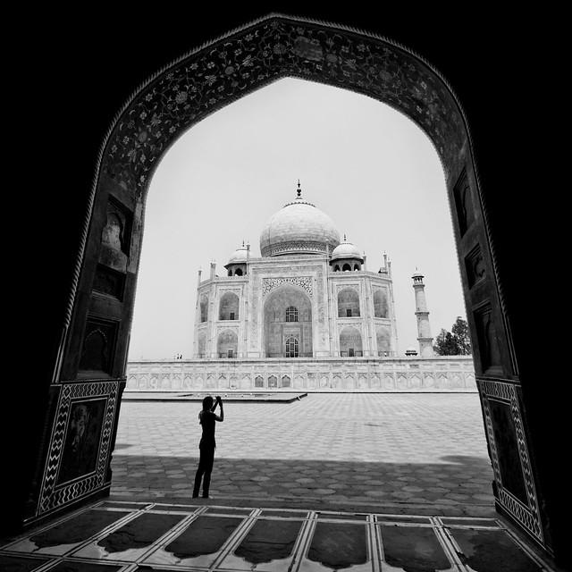 Taj Mahal   Within The Frame
