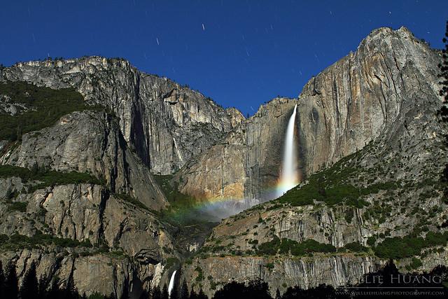 Upper Falls Lunar Rainbow