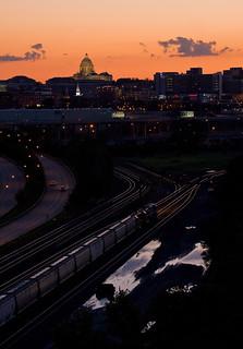 Soo Line Sunset; Saint Paul, MN | by Ottergoose