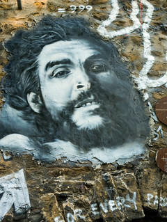 Ernesto Guevara painted portrait P1040773 | by Abode of Chaos