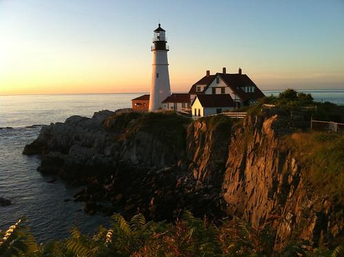 camera new england lighthouse beauty sunrise portland landscape coast elizabeth magic north maine cape headlight iphone