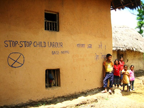 Stop Child Labor Graffiti | by The Advocacy Project