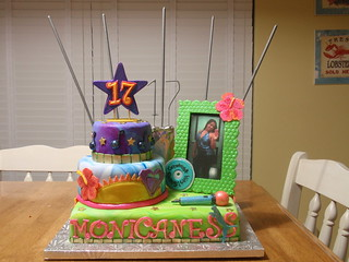 Marvelous Birthday Cake With Fireworks My Grand Daughter Design And Flickr Funny Birthday Cards Online Alyptdamsfinfo