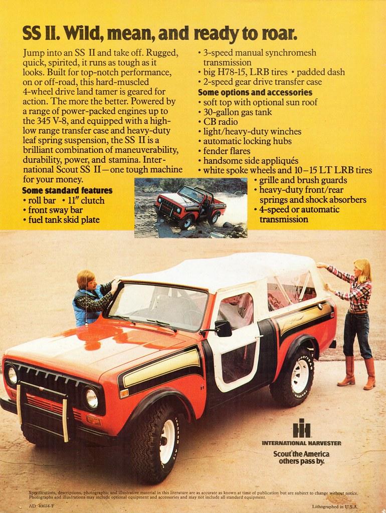 1977 International Scout SS II | Alden Jewell | Flickr