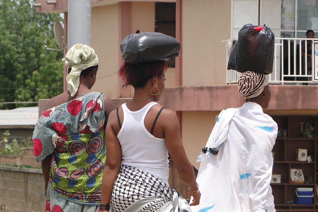 Trio of Women - Bolgatanga - Ghana - 01