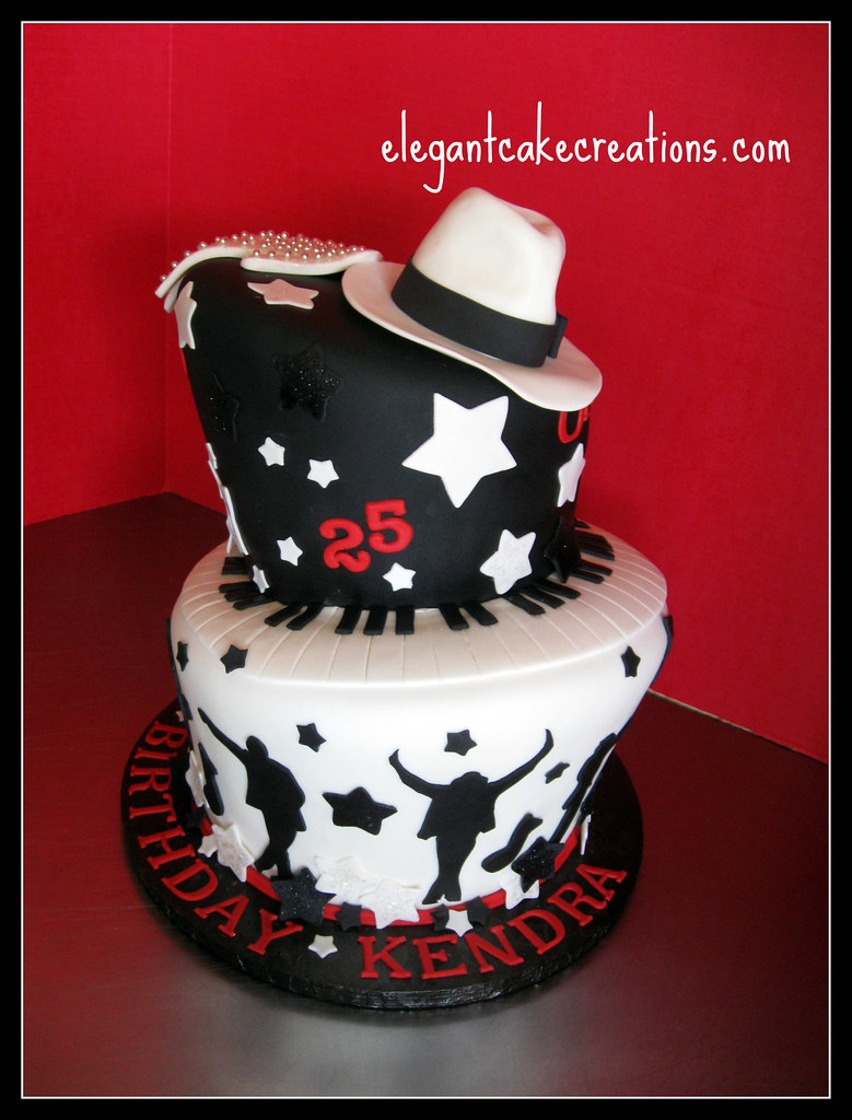 MJ Theme Birthday Cake