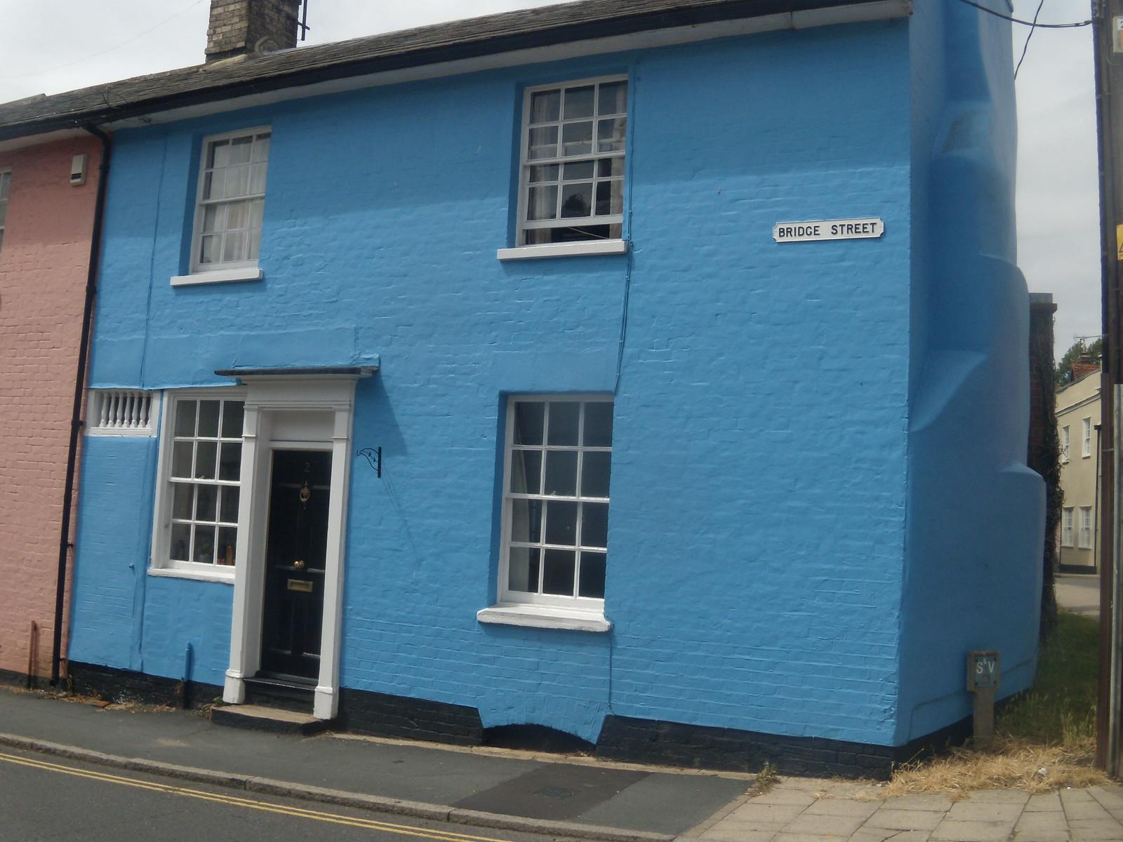 blue house Coggeshall Kelvedon circular