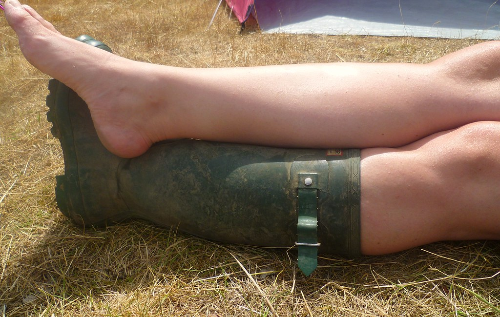 One Welly, One Bare | Latitude Festival | Tamsin Chapman | Flickr