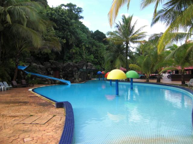 Swimming pool at Aseania Resort Langkawi