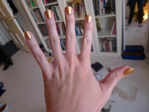 Gold Nails! | by SanFranAnnie