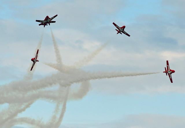 RCAF Snowbirds going their separate ways