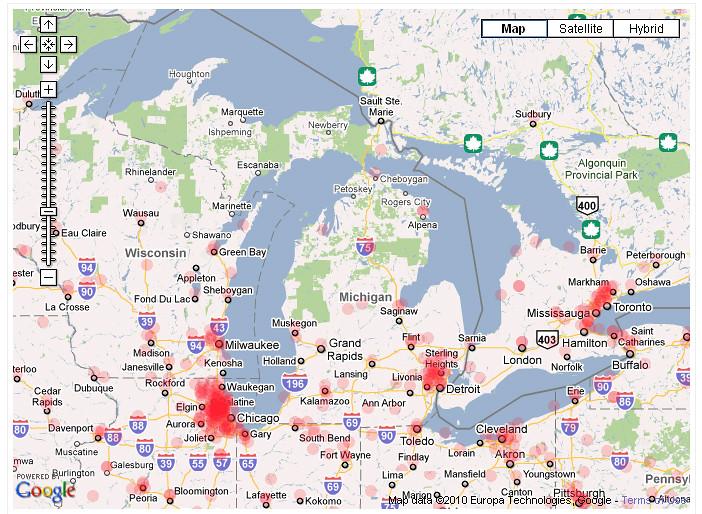 Ip Address Map on