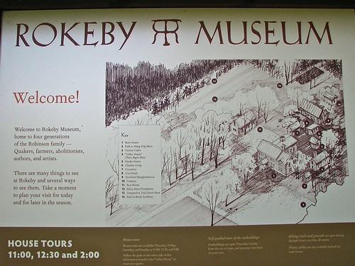 Rokeby Museum (c.1790) – Informational Signage | by origamidon
