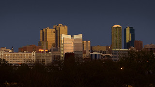 Fort Worth Skyline at Sunset | by longhorndave