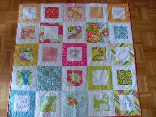 Rosa's Quilt (on floor)