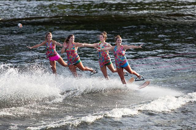 U.S. Water Ski Show Team - Scotia, NY - 10, Aug - 31