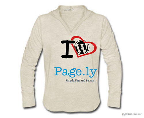 page.ly t-shirt design