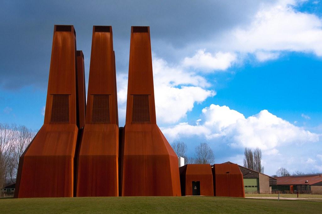 Corten Steel Power Station A Little Detail I Have Coopera Flickr
