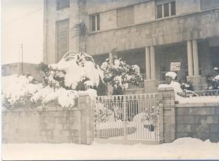 Snow , Modern Language Center 1970