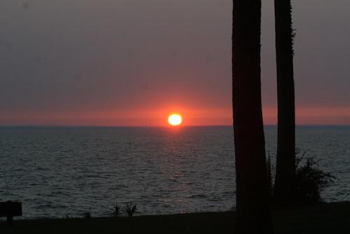 lake water sunrise wolfcreek lakelivingston