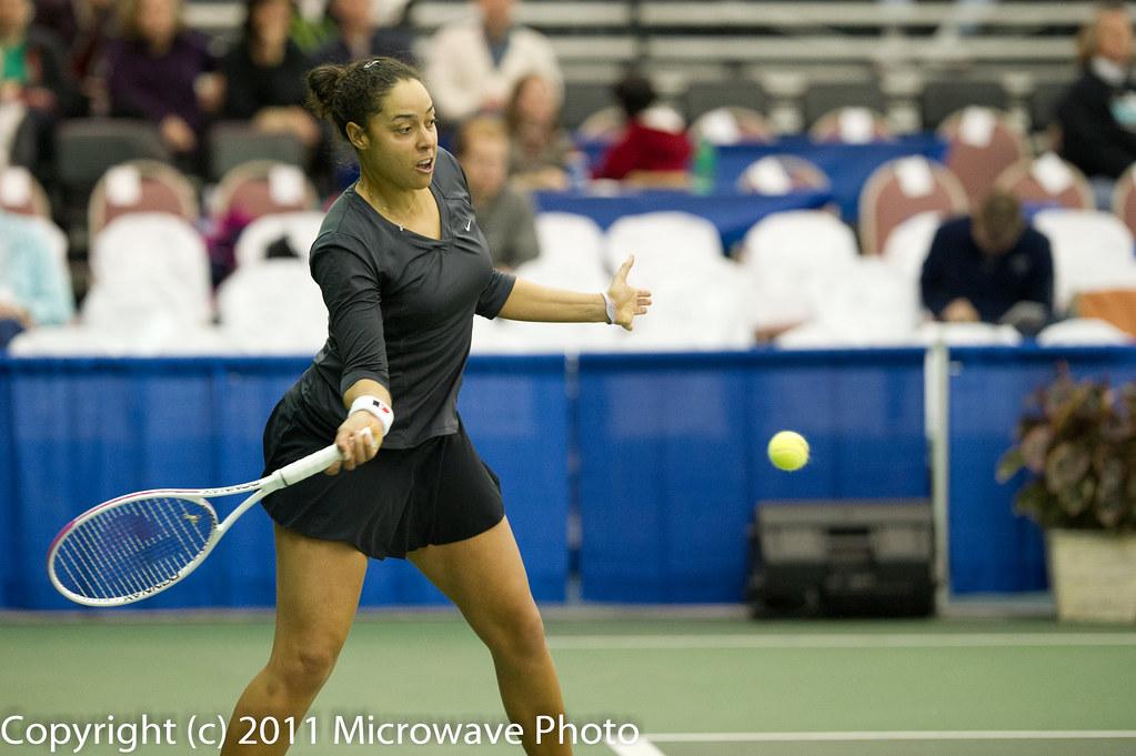 Alexandra Stevenson (USA) | 2011 Dow Corning Tennis