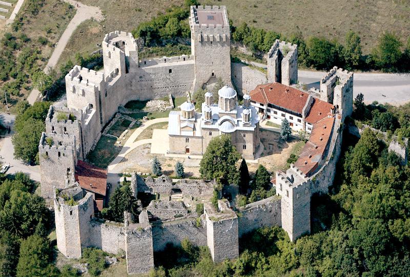 Manasija_monastery,Serbia