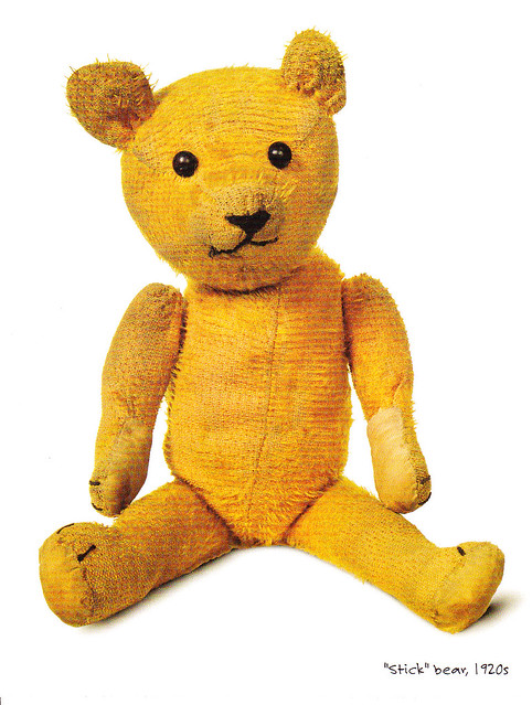 USPS Teddy Bears Postcard