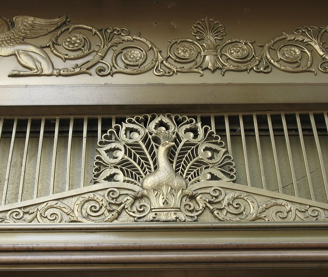 Doorway detail, the Palmer House Hotel