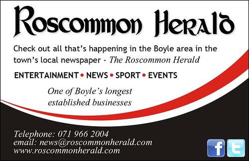 Roscommon Herald Advert Card
