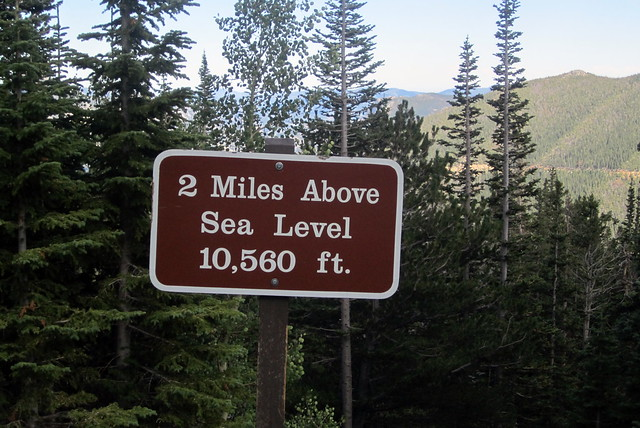 Colorado - Rocky Mountain National Park: 2 Miles Above Sea Level