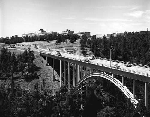 LA bridge in Los Alamos