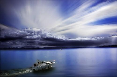 ocean blue sea sky seascape clouds landscape boat sailing bluesky mygearandmepremium mygearandmebronze mygearandmesilver mygearandmegold mygearandmeplatinum mygearandmediamond