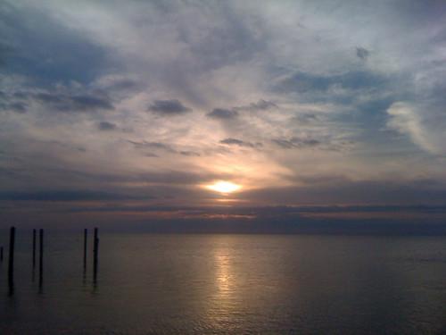 ocean sky sun water running atlantic keylargo floridasunrise