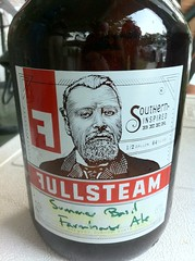Enjoying Some FullSteam Beer at the #ConvergeSouth BBQ