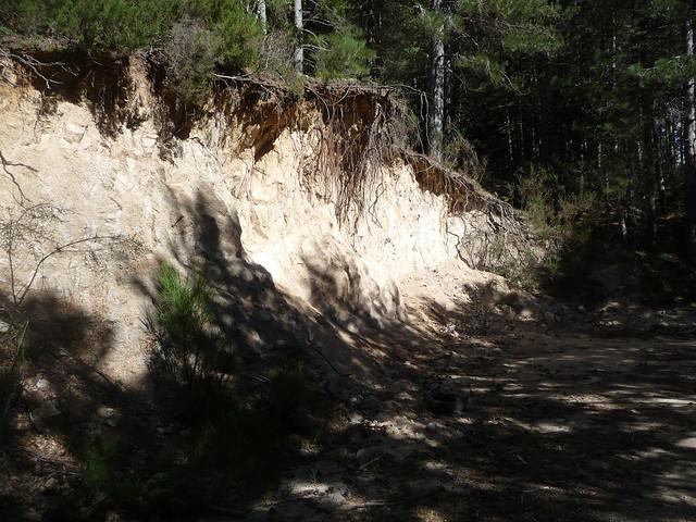 Sentiero di Ferdinandea - Sopra il lago/diga di Ferdinanda