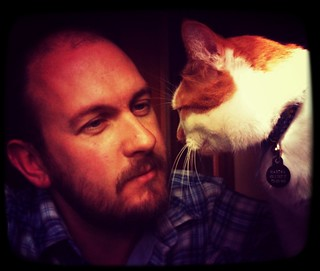 Me and my moggy