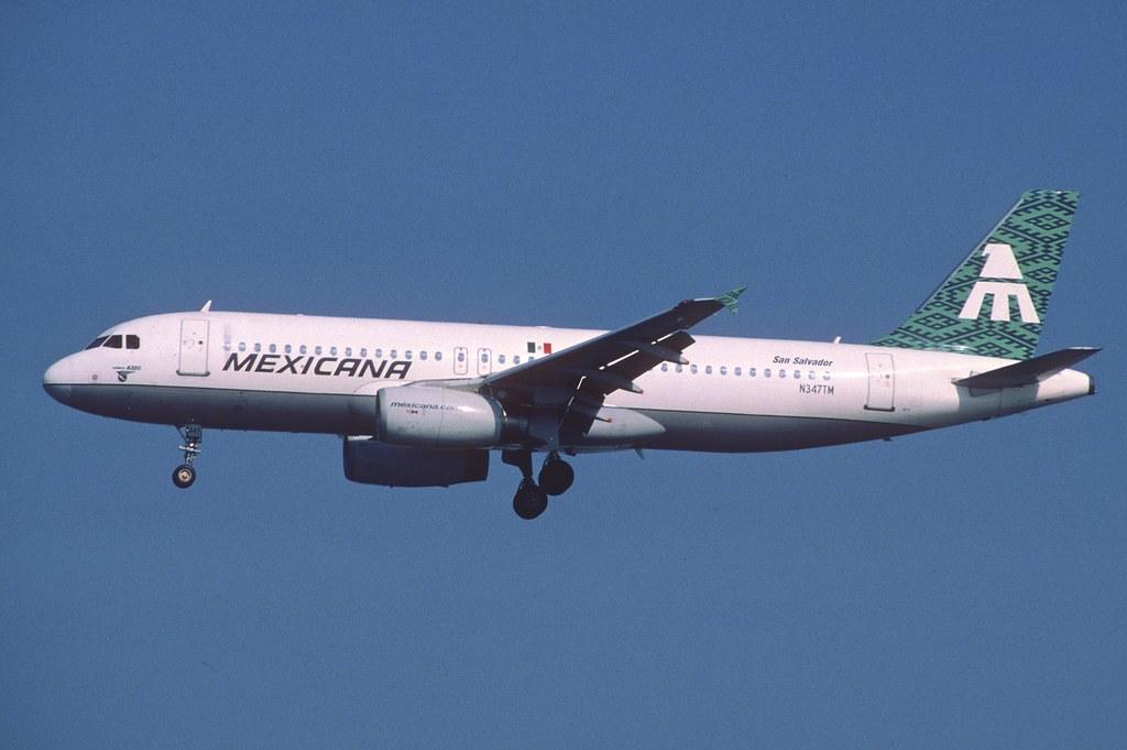 395bf - Mexicana Airbus A320-231; N347TM@LAX;11.02.2006
