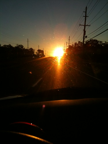 road car sunrise driving mini cooper iphone jcw johncooperworks r56 101010