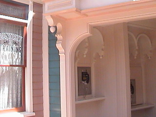 714-778-9435 714-778-9476 714-778-9327 Payphones, Main Street Cone Shop, East Center Street, Main Street U.S.A., Disneyland®, Anaheim, California, 2008.08.08 13:05