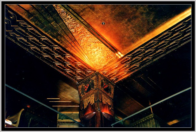 Los Angeles LA ~ Oviatt Building ~ Ceiling Architecture