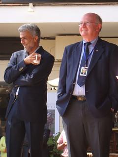 Vish Nene and new ILRI Board Member   by International Livestock Research Institute