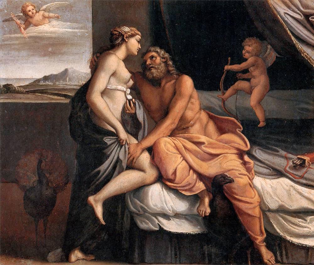 +1597 Zeus y Hera