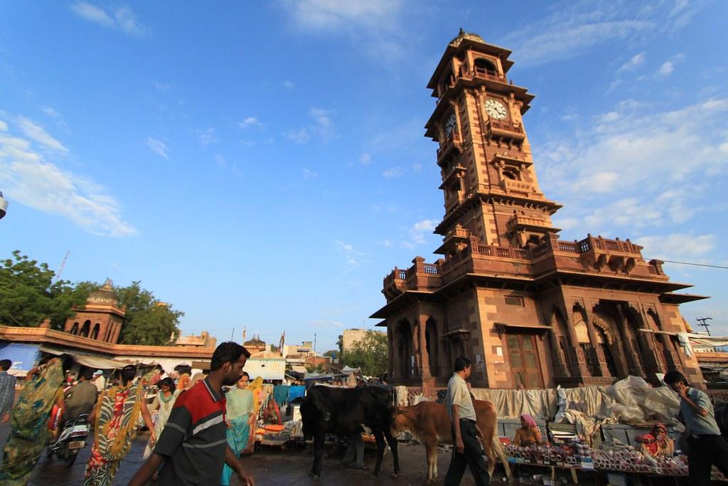 Clock Tower - Jodhpur, India