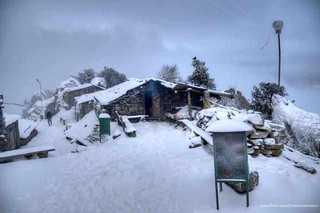 Huts at churdhar