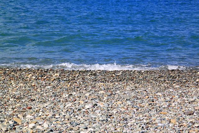 stony beach, Akamas, Cyprus