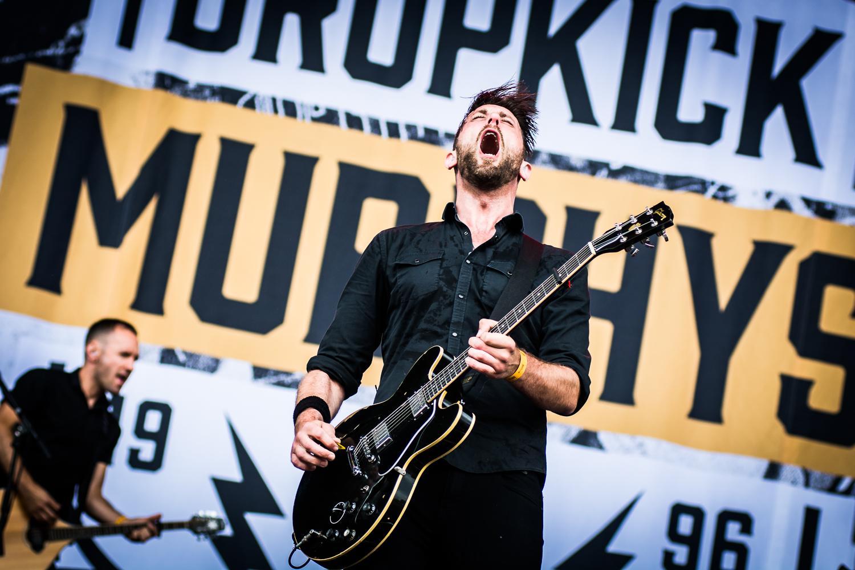 Dropkick Murphys @ Rock Werchter (© 2017 Timmy Haubrechts)