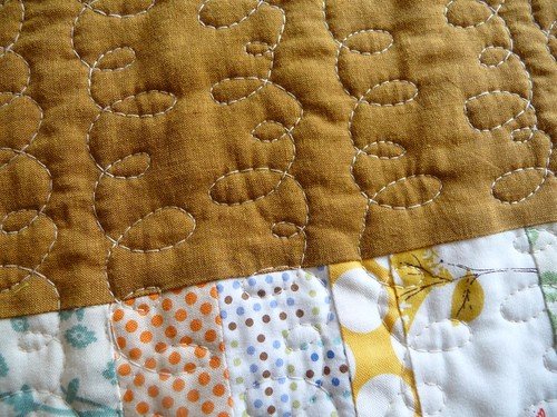 free motion quilting | by Spotted Stone Studio {Krista}