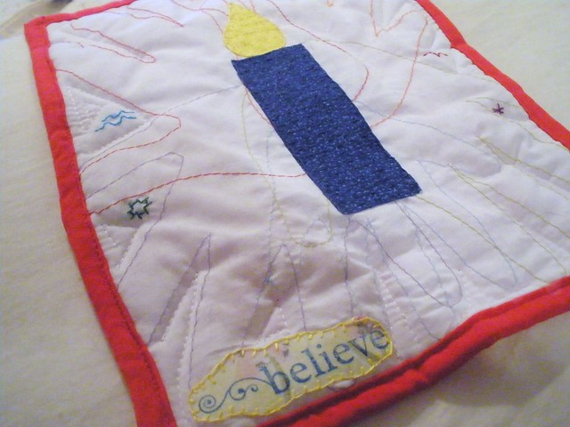 July Journal Quilt - Up Close